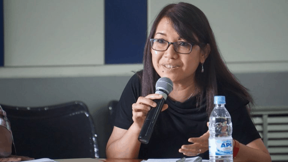 Ms. Khin Ohmar, human rights defender and democracy activist from Myanmar, briefed the UN Security Council at this year's open debate on sexual violence in conflict.